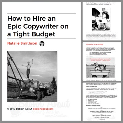 Hire a Freelance Copywriter Free eBook